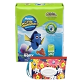 Huggies Little Swimmers Disposable Swim Diaper, Swimpants, Size Small, 20 Ct., with Huggies Wipes Clutch 'N' Clean Bonus Pack