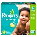 Pampers Cruiser Diapers - Size 3 <br/> 160ct Case of 1