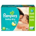 Pampers Cruiser Diapers - Size 3 <br/> 144ct Case of 1