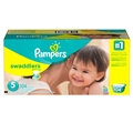 Pampers Swaddlers Diapers - Size 5 <br/> 104ct Case of 1