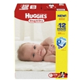 Huggies Snug & Dry Diapers, Size 1, 276 Count