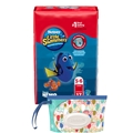Huggies Little Swimmers Disposable Swim Diaper, Swimpants, Size Large, 17 Ct., with Huggies Wipes Clutch 'N' Clean Bonus Pack