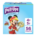 Pull-Ups Cool & Learn Training Pants for Boys, 4T-5T