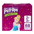 Pull-Ups Night-Time Potty Training Pants for Girls, 2T-3T (18-34 lb.), 66 Ct. (Packaging May Vary)