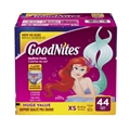 GoodNites Bedtime Bedwetting Underwear for Girls, XS, 44 Ct. (Packaging May Vary)