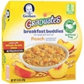 Gerber - Oatmeal With Peach <Br> 8 Pack