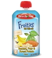 Beech Nut Fruities On the Go - Banana, Pear & Sweet Potato <br> 4 oz - Case of 16