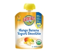 Earth's Best Mango Banana Smoothie with DHA <br> 3.1 oz - Case of 12