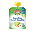 Earth's Best Peach Pear Smoothie with DHA <br> 3.1 oz - Case of 12