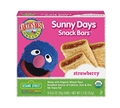 Earth's Best Sunny Days Strawberry Snack Bars <br> 5.3 oz - Case of 6