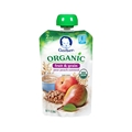 Gerber 2nd Foods Organic Fruit & Grain - Pear Peach Oatmeal <br> 3.5 oz - Case of 12
