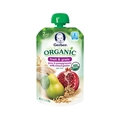 Gerber 2nd Foods Organic Fruit & Grain - Pear & Pomegranate with Mixed Grains <br> 3.5 oz - Case of 12