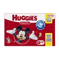 Huggies Snug & Dry Diapers - Size 4 <br/> 156ct Case of 1