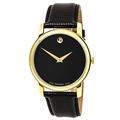 Movado Museum Men's Leather Watch