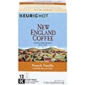 New England Coffee - French Vanilla <br> 4.8 oz - 6 per case