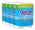 Quilted Northern Ultra Soft & Strong® Toilet paper, 24 Mega Rolls