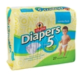 ShopRite Jumbo Pack Diapers Size 5 Case Pack of 4