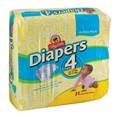 ShopRite Jumbo Pack Diapers Size 4 Case Pack of 4
