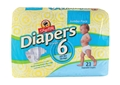 ShopRite Jumbo Pack Diapers Size 6 Case Pack of 4