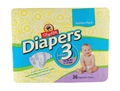 ShopRite Jumbo Pack Diapers Size 3 Case Pack of 4