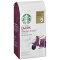 Starbucks Dark Italian Roast Ground Coffee <br> 12 oz - 6 per case