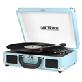 Victrola Bluetooth Suitcase Record Player with 3-Speed Turntable (Turquoise)