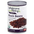 Wholesome Pantry Organic Black Beans <br> 15.5 oz - 12 per case
