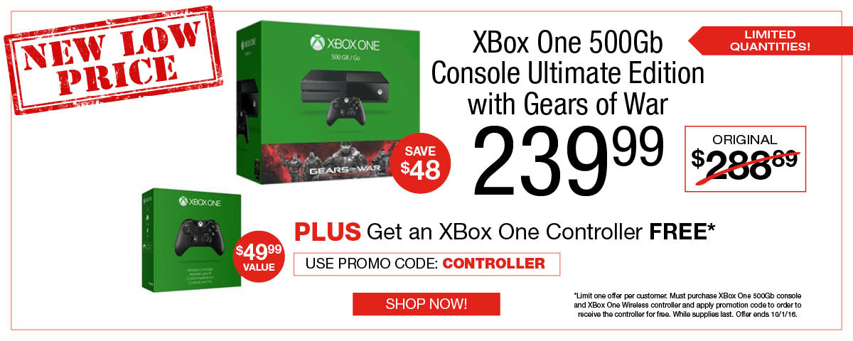 XBOX Free Controller offer - limited time