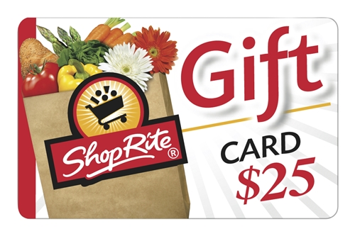 Shoprite 25 Gift Card Redeemable In Stores Or At Shoprite From Home