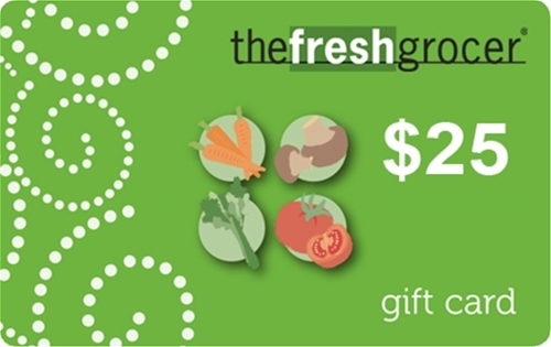 The Fresh Grocer $25 Gift Card