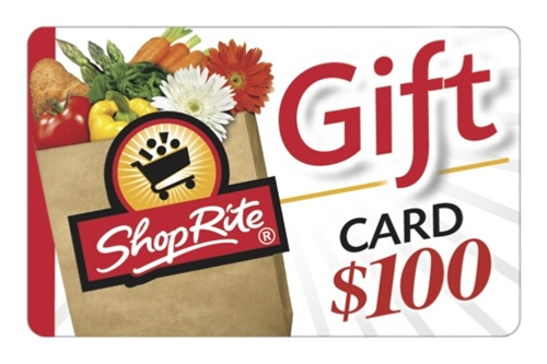 ShopRite $100 Gift Card - Redeemable in stores or at ShopRite from Home