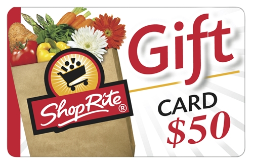ShopRite $50 Gift Card - Redeemable in stores or at ShopRite from Home