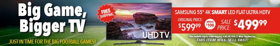 Big Game Bigger TV