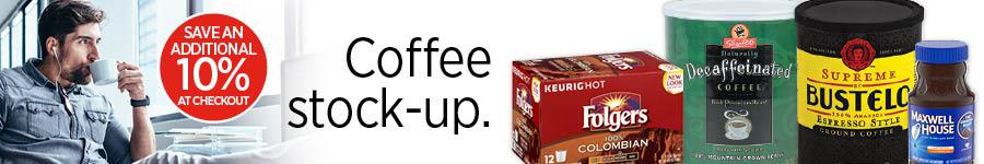 Coffee Stock Up