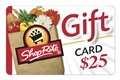 ShopRite $25 Gift Card - Redeemable in stores or at ShopRite from Home