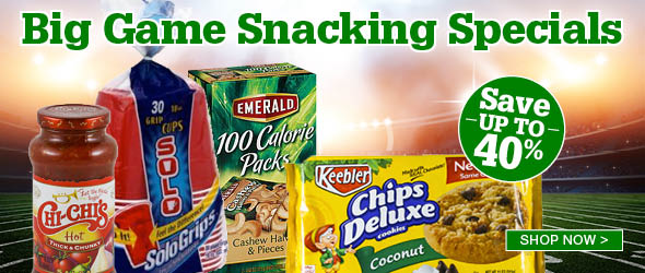 Big Game Snacking Specials