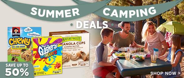 Summer Camping Deals